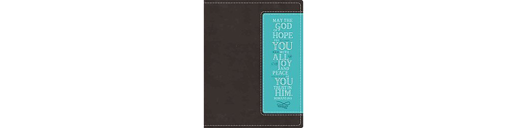 NIV Beautiful Word Bible : New International Version, Chocolate / Turquoise, Italian Duo-Tone