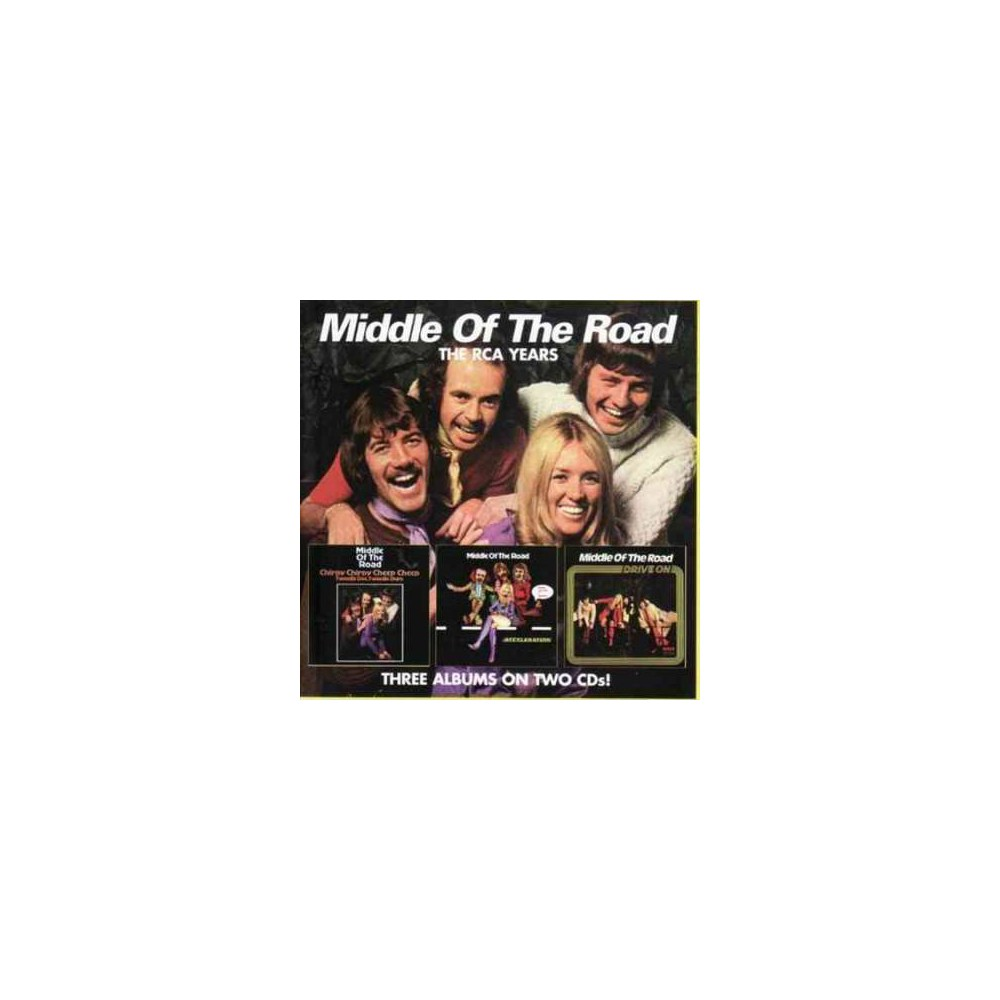 Middle Of The Road - Chirpy Chirpy Cheep Cheep/Acceleratio (CD)