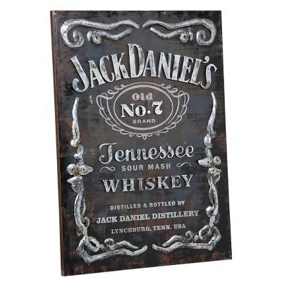 Metal Label Wall Art - Jack Daniel's