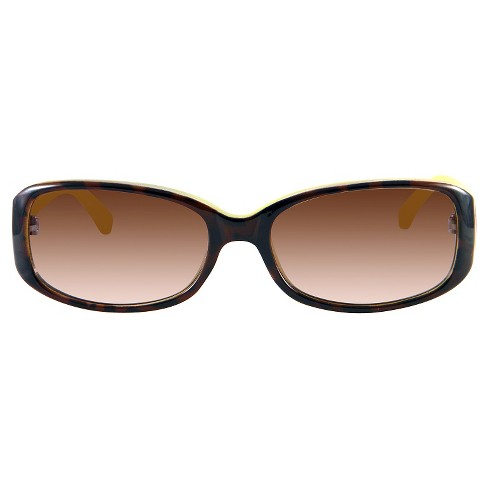 Women's Rectangle Sunglasses - A New Day™ Tortoise - image 1 of 2