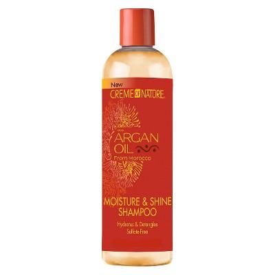Creme of Nature Moisture & Shine Shampoo with Argan Oil - 12 fl oz