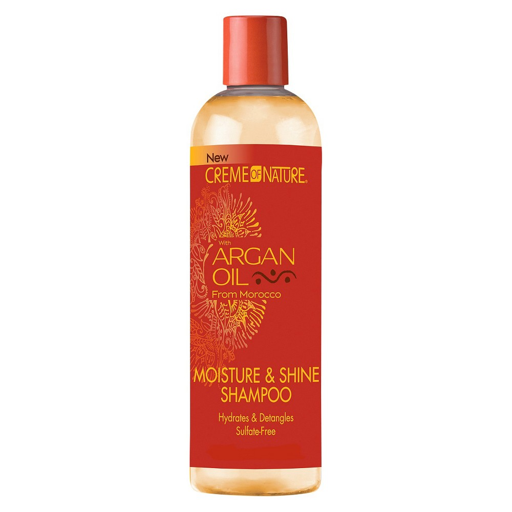 Creme of Nature Moisture & Shine Shampoo with Argan Oil - 12 fl oz