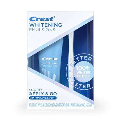 Crest Whitening Emulsions Leave-on Teeth Whitening Treatment with Applicator - 0.88oz