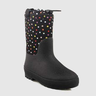 Girls' Robbie Winter Boots - Cat & Jack™ Black 1