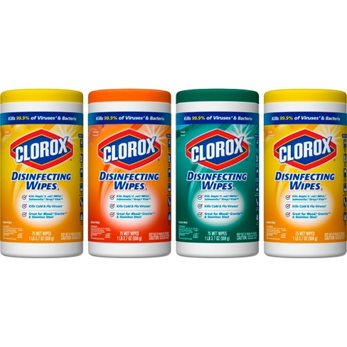 Clorox Disinfecting Wipes Value Pack Scented 300 ct Total - image 1 of 8
