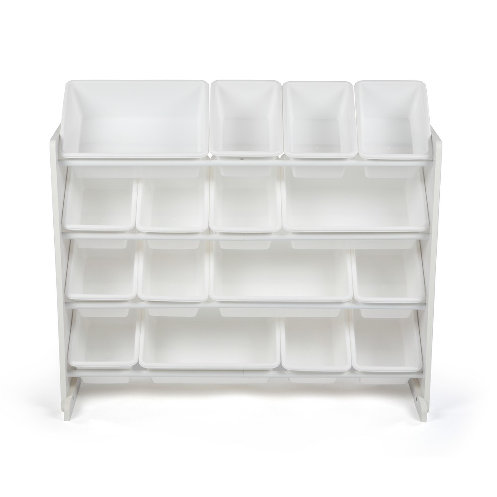 Super-Size Toy Organizer White - Tot Tutors