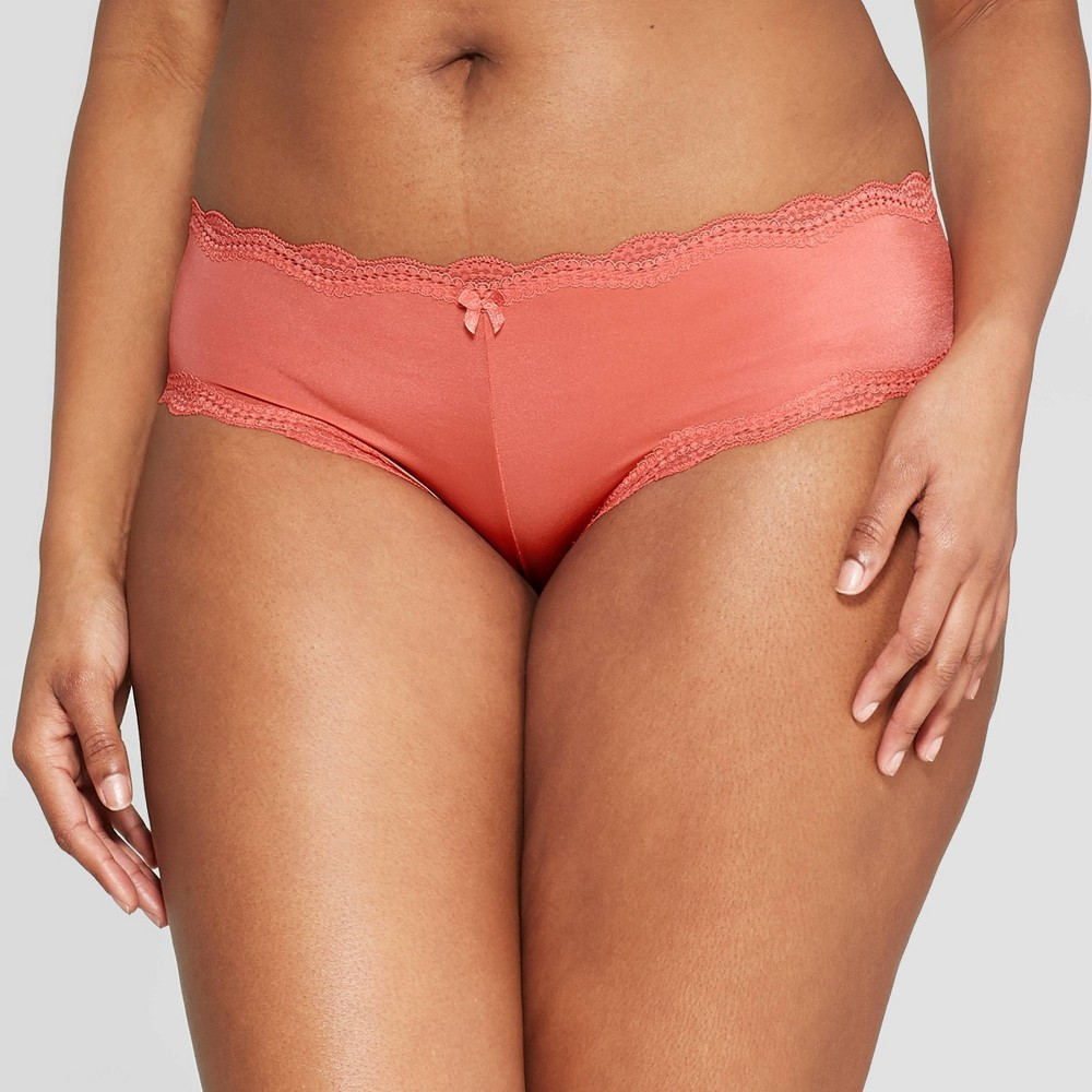 Women's Micro Cheeky with Lace - Auden Faded Rose M