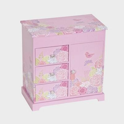 Mele & Co. Pearl Girls' Musical Ballerina Jewelry Box - Pink