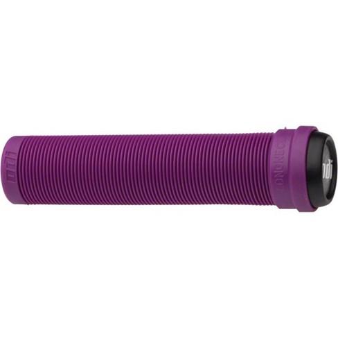 ODI Flangeless Longneck Grips - Purple Rib Pattern Soft Compound Bike Grip - image 1 of 1