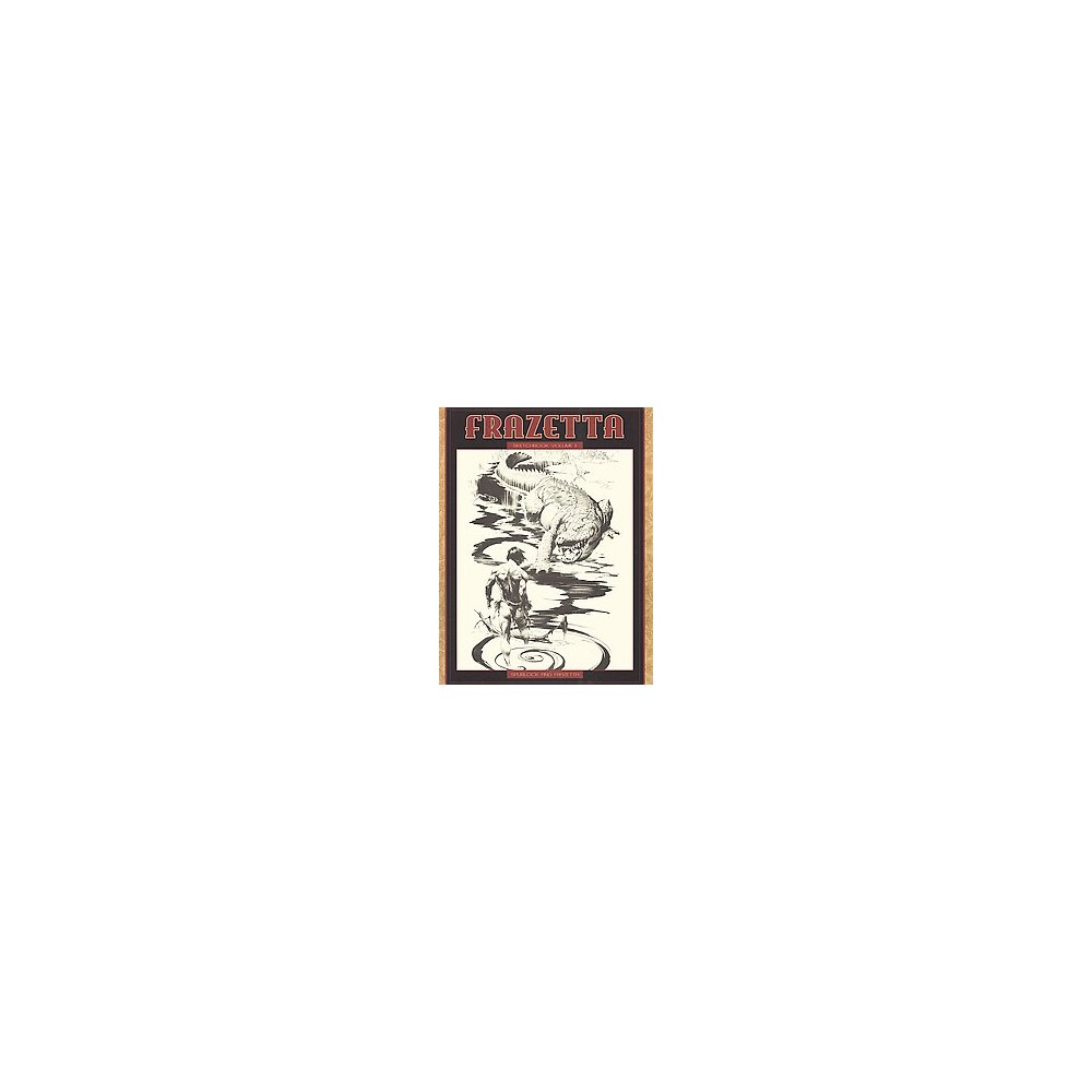 Frazetta Sketchbook (Vol 2) (Paperback) (David J. Spurlock)