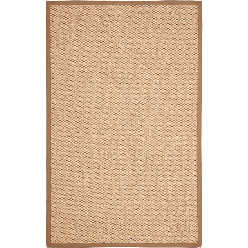 6 39 X9 39 Solid Loomed Area Rug Natural Safavieh