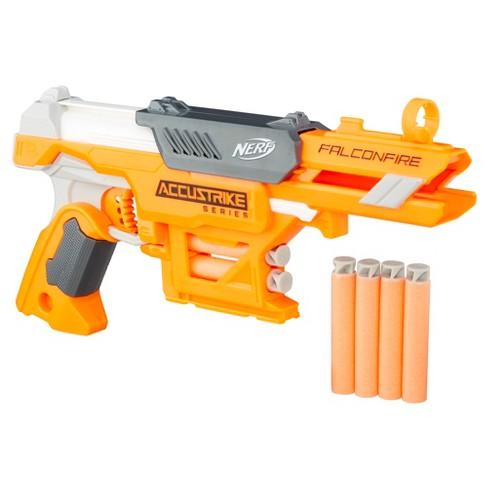 nerf n strike elite accustrike series falconfire blaster target