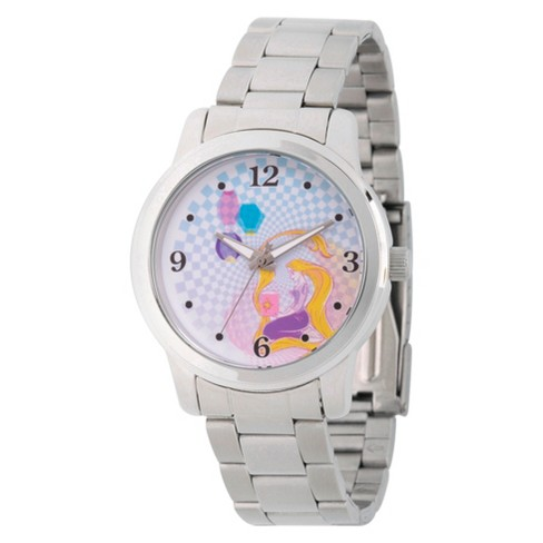 Women's Disney Princess Ariel Silver Alloy Watch - Silver - image 1 of 1