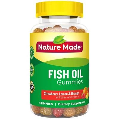 Vitamins & Supplements: Nature Made Fish Oil Gummies