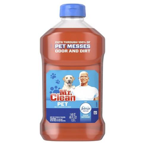 Mr Clean with Febreze Freshness Odor Defense Pet Liquid Multi Surface Cleaner - 45 fl oz - image 1 of 3