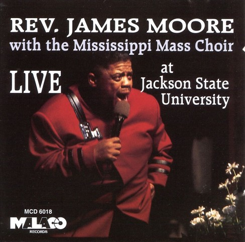 James moore - James moore:Live at jackson state uni (CD) - image 1 of 1