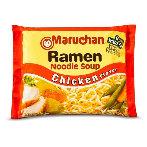 Maruchan Ramen Noodle Soup Chicken Flavor 3oz - image 1 of 3
