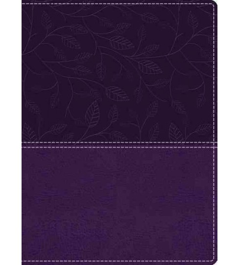 Beautiful Word Bible : King James Version, Royal Purple, Leathersoft, Red Letter Edition (Paperback) - image 1 of 1