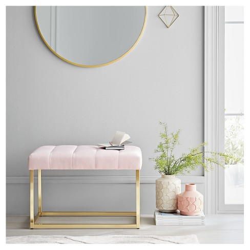 Velour Bench Pink Project 62