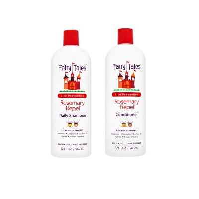 Fairy Tales Lice Prevention Rosemary Repel Daily Shampoo and Conditioner - 64 fl oz