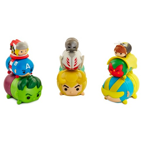 Tsum Tsum Marvel 6 Pk Wave-2 figures - image 1 of 6