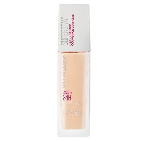 Maybelline Superstay Full Coverage Foundation - Fair Shades - 1 fl oz - image 1 of 5