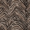Polyester Washed Pillow Square Zebra Chocolate - Cloth & Co. - image 4 of 4