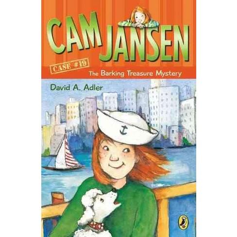 CAM Jansen: The Barking Treasure Mystery #19 - (Cam Jansen) by  David A Adler (Paperback) - image 1 of 1