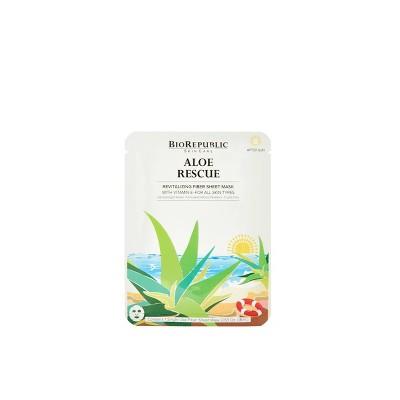 BioRepublic SkinCare Aloe Rescue Revitalizing Mask - 0.63oz