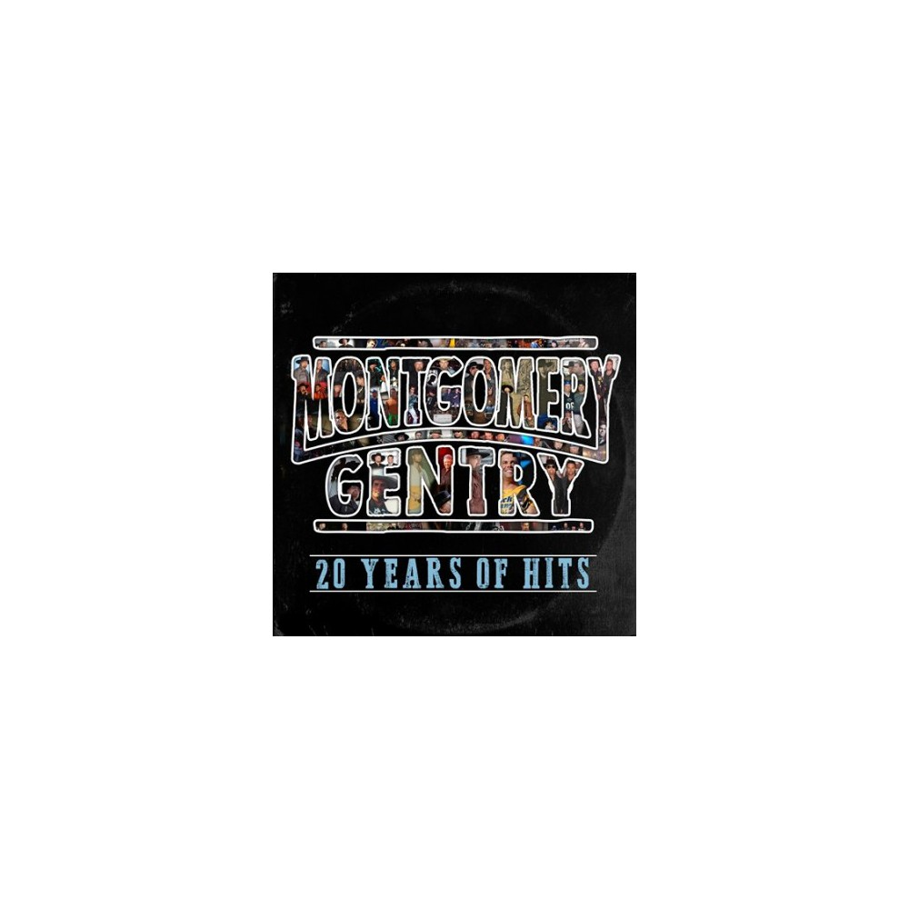 Montgomery Gentry - 20 Years Of Hits (CD)
