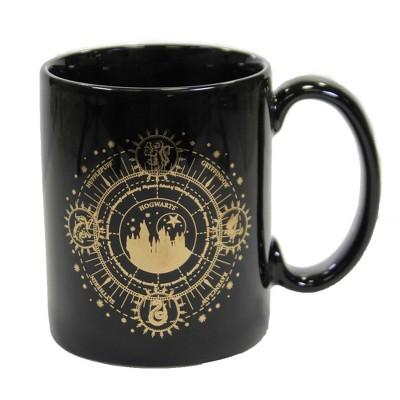 "Tabletop 4.0"" Hogwarts Gold Mug Harry Potter Wizard Enesco  -  Drinkware"