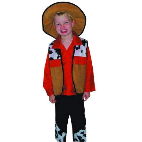 Northlight Cowboy Children's Three-Piece Halloween Costume - 7-9 Years - image 1 of 1