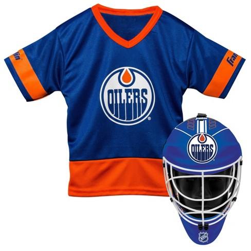 609cdab2886 Edmonton Oilers Franklin Sports Youth Team Uniform Set   Target
