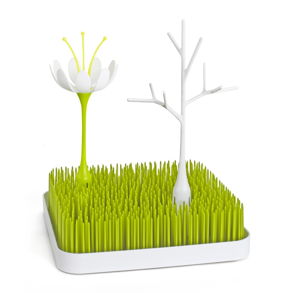 Image of Boon Grass, Stem & Twig Drying Set Bundle, White Green