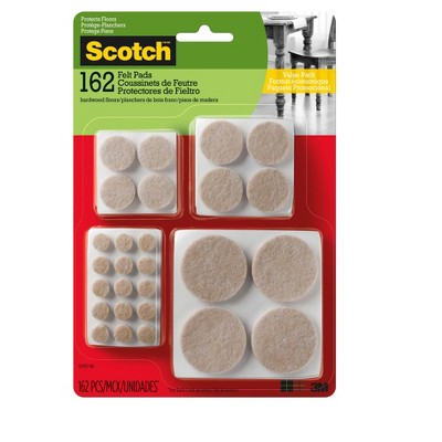 .94 X 6.125 X 9 162 Count Scotch Floor Pad