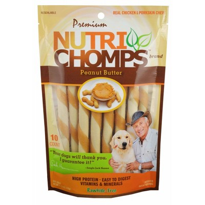 Nutri Chomps Nutri Chomps Peanut Butter Mini Twist