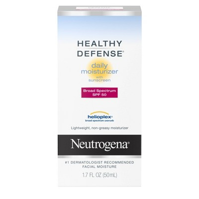 Facial Moisturizer: Neutrogena Healthy Defense Daily Moisturizer