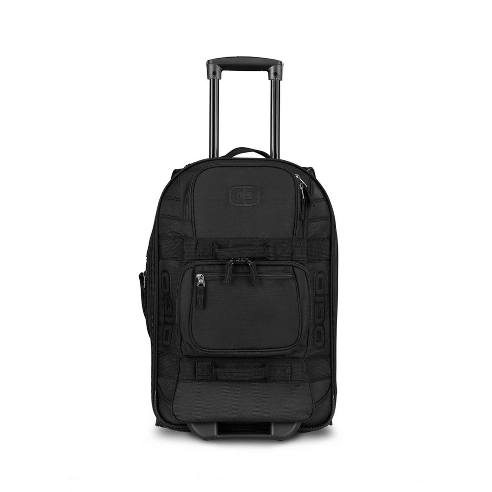"Image of ""OGIO 22"""" Layover Rolling Carry On Suitcase - Black, Size: Small"""