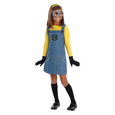 Despicable Me 2 Girls Minion Costume Target