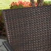 Laguna 7pc Acacia Wood/Wicker Patio Dining Set - Brown/Cream - Christopher Knight Home - image 3 of 4