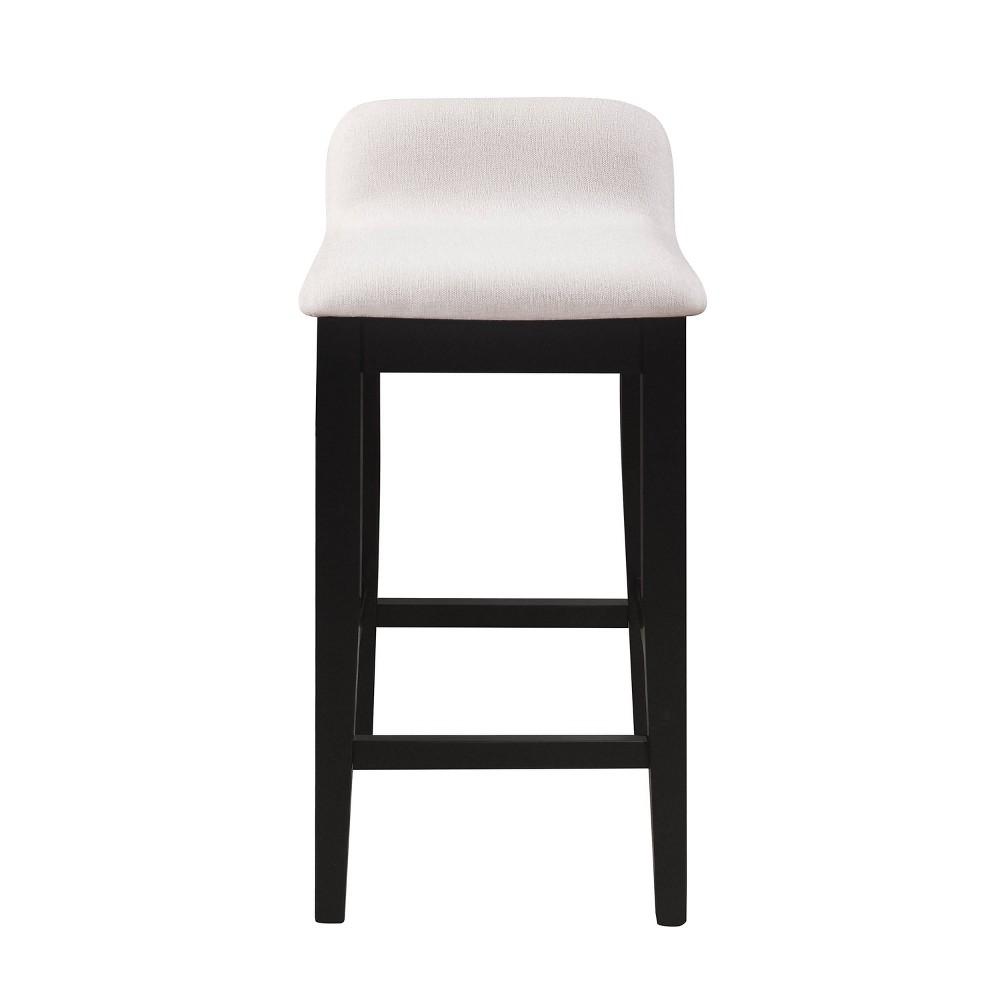 Maydena Counter Height Barstool Black Hillsdale Furniture