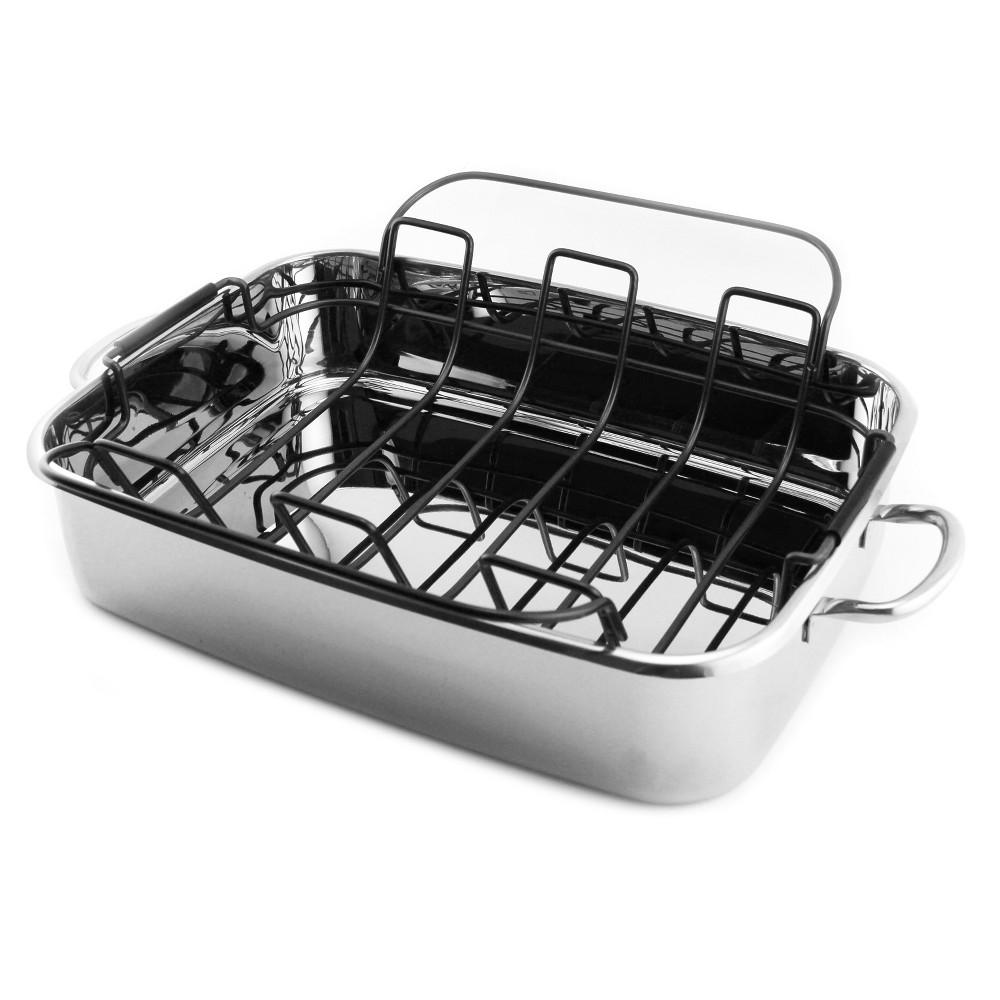 Image of Berghoff 15 Roaster Pan, Silver