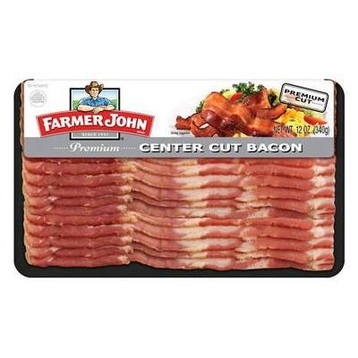 Farmer John Center Cut Bacon - 12oz