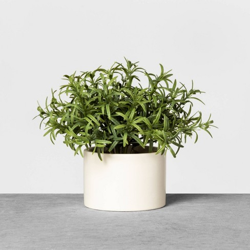 Faux Rosemary Potted Plant - Hearth & Hand™ with Magnolia - image 1 of 2