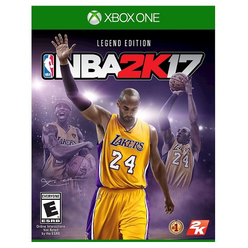 NBA 2K17 Legend Edition Xbox One - image 1 of 8