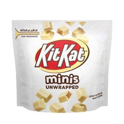 Kit Kat White Creme Unwrapped Minis - 7.6oz