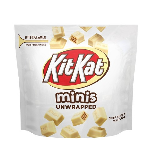 Kit Kat White Creme Unwrapped Minis 7 6oz Target