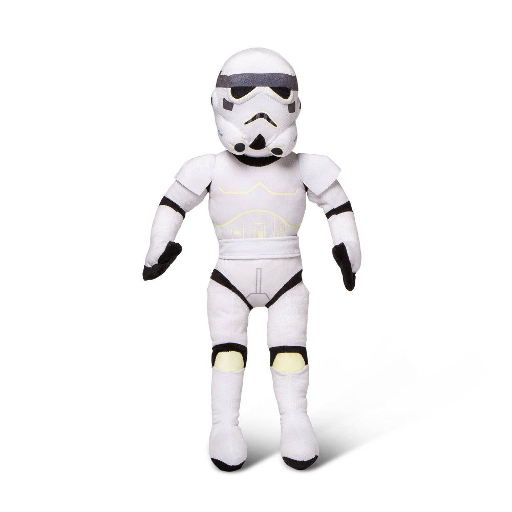 Image of Star Wars Stormtrooper Glow-in-the-Dark Pillow Buddy White