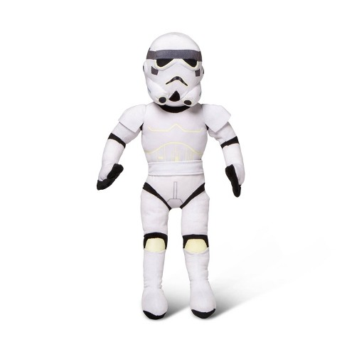 Star Wars Stormtrooper Glow-in-the-Dark Pillow Buddy White - image 1 of 3
