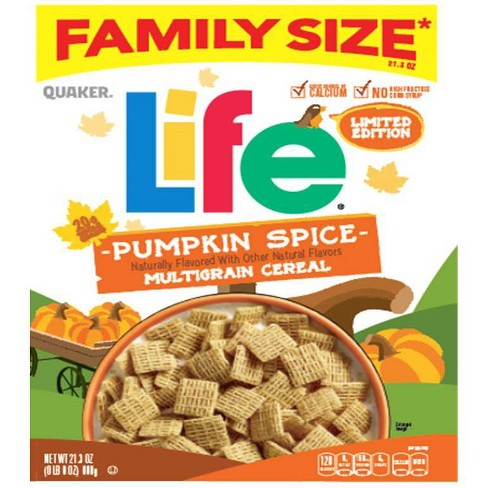 Frosted Flakes Pumpkin Spice Family Size Breakfast Cereal - 24oz - Kellogg's - image 1 of 1